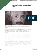 As Manias Esquisitas de Einstein Que Podem Nos Ensinar Lições Úteis