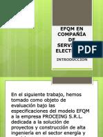 Efqm en Compañía de Servicios Electricos