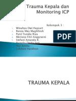 Trauma Kepala Dan Monitoring ICP