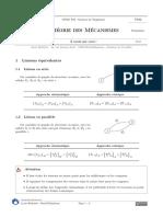 [Tdm][FO]Formulaire Theorie Des Mecanismes