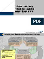 SAP Intercompany Reconciliation Entries