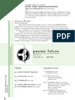 June 2007 Prairie Falcon Northern Flint Hills Audubon Society