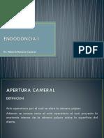Apertura Cameral