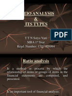 Ratio Analysis and Its Types