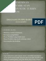 Proses Produksi Valve Turbine Crossflow