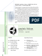Apr 2008 Prairie Falcon Northern Flint Hills Audubon Society