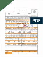 Ejemplo registro, preparación de superficie