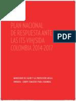 9 ITS VIH SIDA Plan Nacional Respuesta Its VIH 2014 2017
