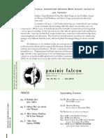 July-Aug 2008 Prairie Falcon Northern Flint Hills Audubon Society