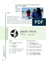 Dec 2008 Prairie Falcon Northern Flint Hills Audubon Society