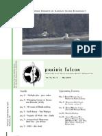 May 2009 Prairie Falcon Northern Flint Hills Audubon Society