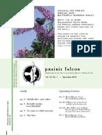 Sept 2009 Prairie Falcon Northern Flint Hills Audubon Society