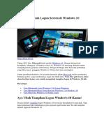 Cara Mengubah Logon Screen di Windows 10.docx