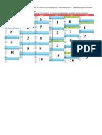 Calendrier Sortie Poubelle 1er Semestre 2017