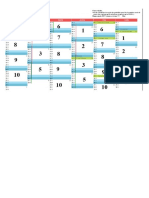 Calendrier Sortie Poubelle 1er Semestre 20172