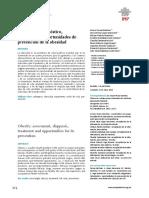 Evaluacion Diagnostico Tratamiento y Oportunidades de Prevencion de La Obesidad