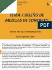 Tema 7. Diseño de Mezclas