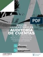 Master Auditoria 17 18
