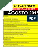 Precio mano de Obra. DEMO AGOSTO-2015  EXCAVACIONES.xls