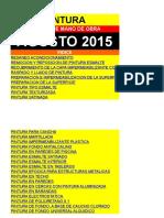 Listado precios de Obra. DEMO AGOSTO-2015 PINTURA.xls