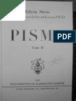 Edyta Stein - LISTY