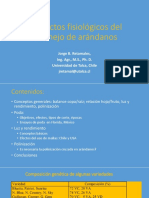 Fisiologia Del Cultivo Del Arandano