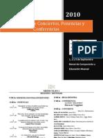 PROGRAMA - BIENAL DE COMPOSICIÓN