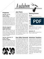 July 2000  Wichita Audubon Newsletter