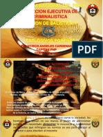 1ra Parte Clase Balistica en Escena Oct16