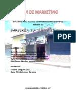 Plan de Marketing Barberia Tu Nueva Imagen