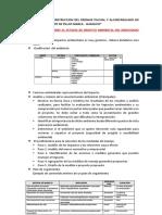 Mejoramiento y Construccion Del Drenaje Pluvial y Alcantarillado en Pillco Marca