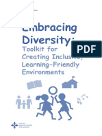 UNESCO Embracing Diversity Toolkit for Creating Inclusive Learning Friendly Enviroment