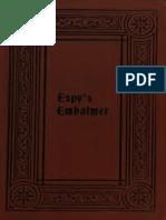 Espys Embalmer 1895