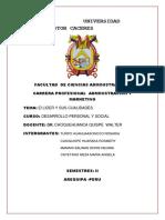Universidad Andina Nestor Caceres Rosario