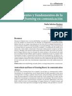 Antecedentes y Fundamentos de La Teoría Del Framing en Comunicación
