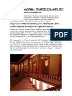 I Salón Internacional de Artes Visuales 2017.docx