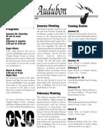 Jan-Feb 2002 Wichita Audubon Newsletter