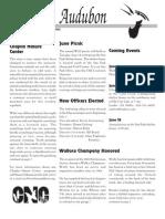 June 2002  Wichita Audubon Newsletter