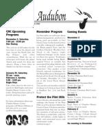 Nov 2002 Wichita Audubon Newsletter