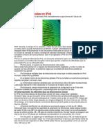 Diseño de Subredes en IPv666
