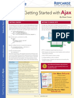 DZone Refcardz Getting Started with Ajax (2008).pdf