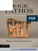 Dana LaCourse Munteanu-Tragic Pathos_ Pity and Fear in Greek Philosophy and Tragedy-Cambridge University Press (2011)