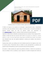 A Pobreza No Brasil