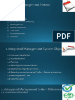 Integrated Management System 2016