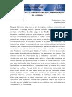 Seminário de Mediação e Conciliação Do TJDFT Reflexões e Desafios