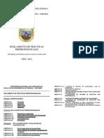 Reglamento de Prac Preprof Fies 2011