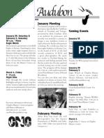 Jan-Feb2005  Wichita Audubon Newsletter
