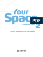 Your Space Level 2 Table of Contents