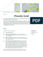 Prioritizing Grid