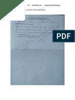 Porcentaje Del Examen y La Serie de Calculo Diferencial